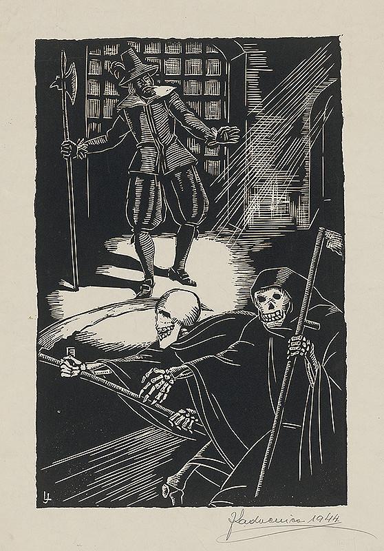 Ján Ladvenica – Povesť-nočný výjav