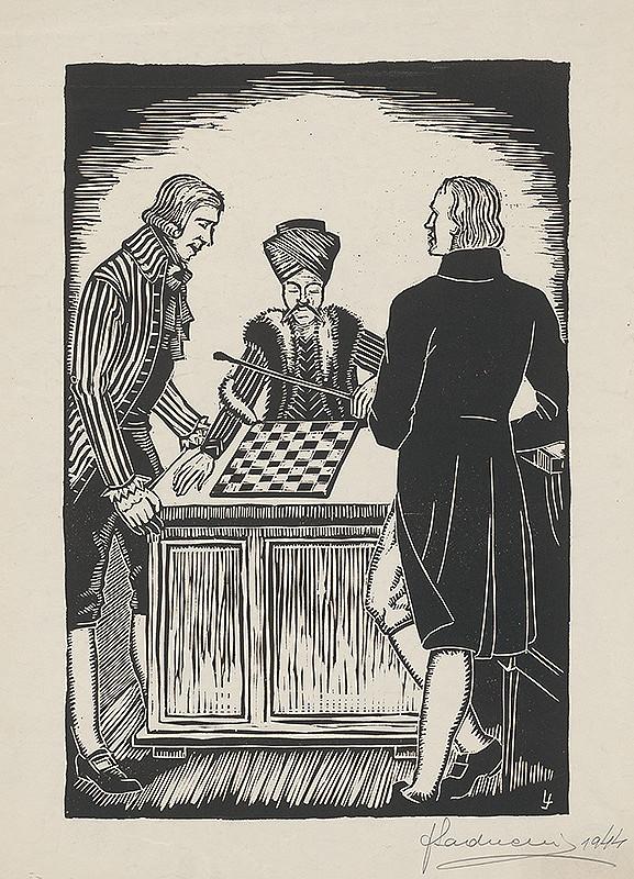 Ján Ladvenica – Šachový stroj pred sultánom