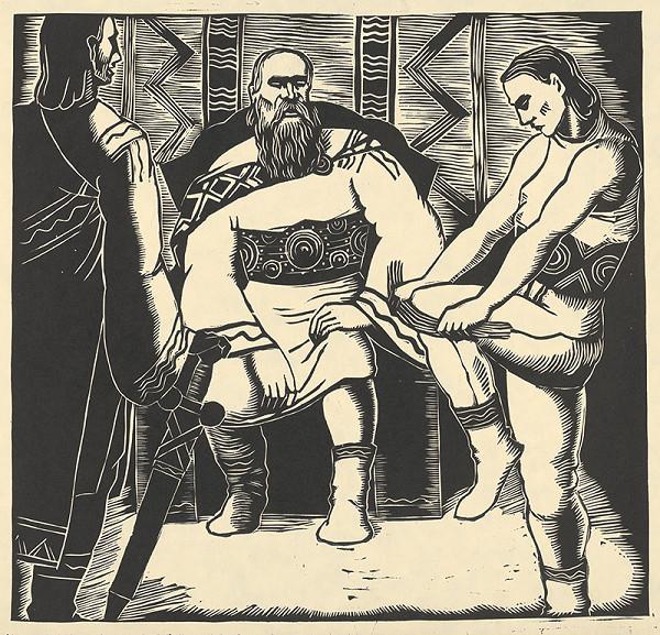 Ján Ladvenica – Svätoplukovi synovia a zväzok prútov