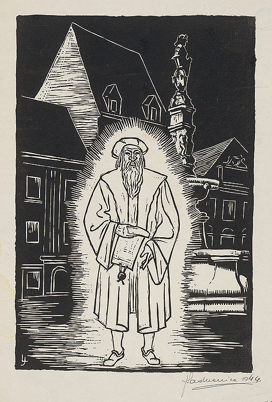 Ján Ladvenica – Bratislavská povesť o Rolandovi