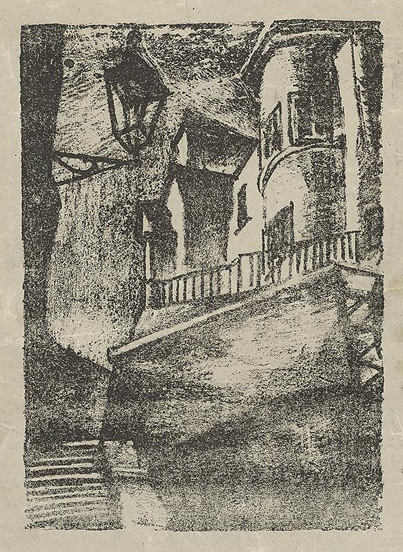 Ján Ladvenica – Zámocké schody v Bratislave