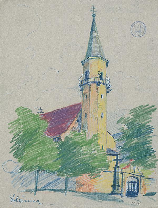 Ján Ladvenica – Kostol v Sološnici