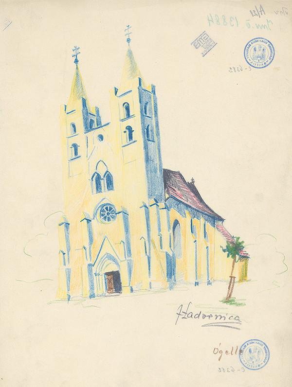 Ján Ladvenica – Kostol v Ógelle