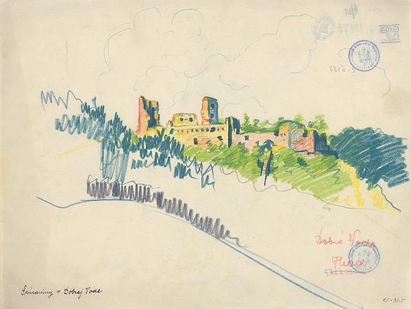 Ján Ladvenica – Zrúcaniny hradu na Dobrej Vode