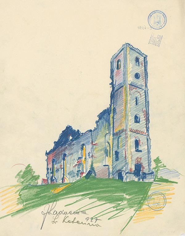 Ján Ladvenica – Kostol vo Sv.Kateríne