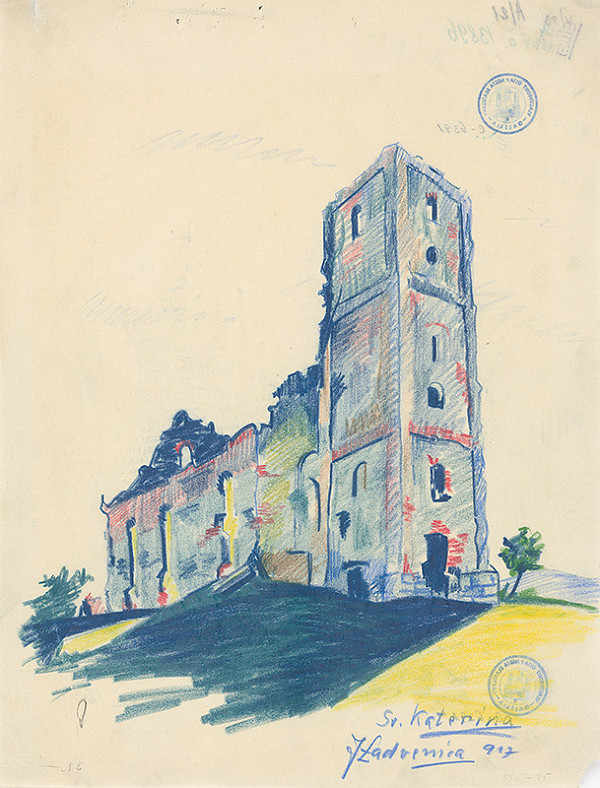 Ján Ladvenica – Kostol vo Sv.Katerine