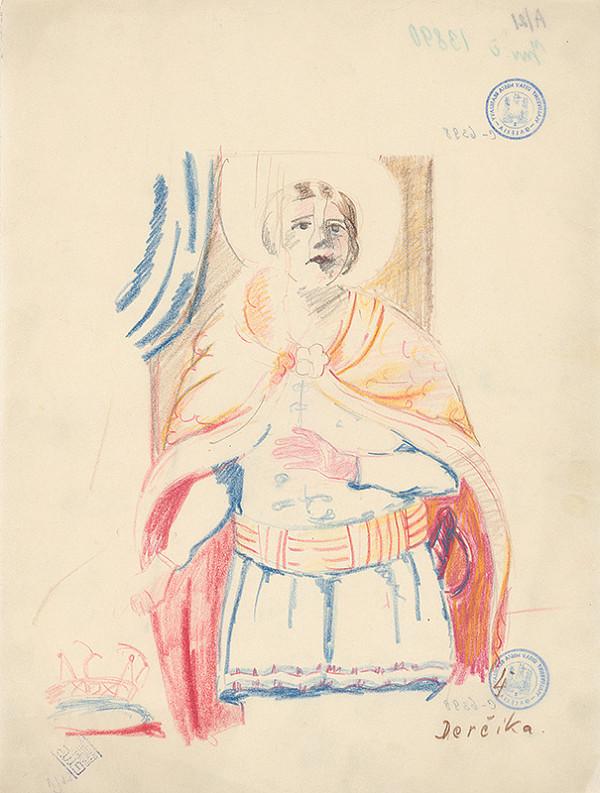 Ján Ladvenica - Freska v Derčíku