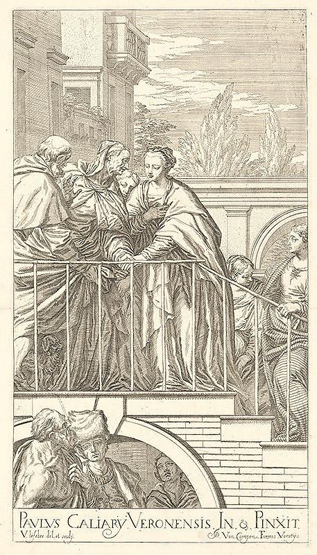 Valentin Lefebvre, Paolo Veronese, Jacob van Campen – Navštívenie Panny Márie