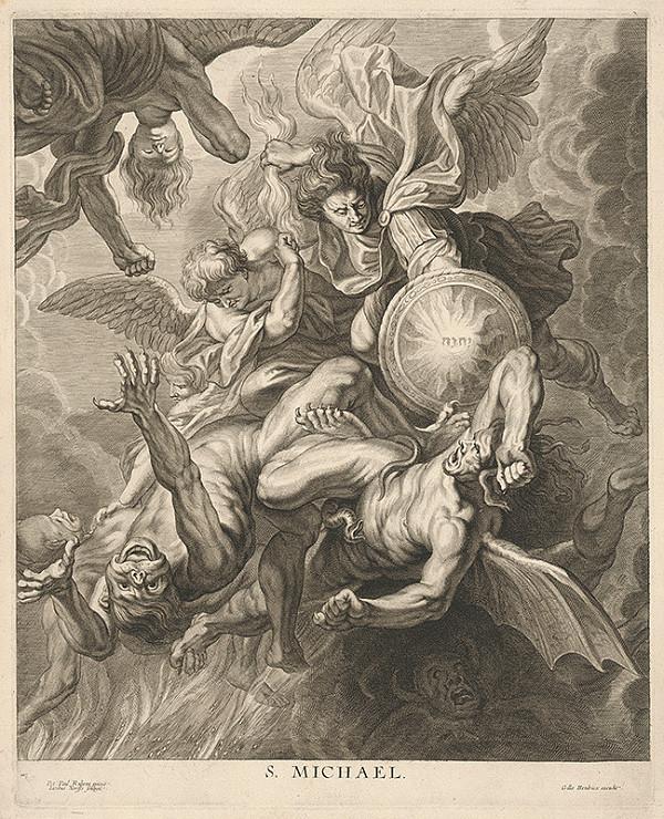 Jacobus Neeffs, Peter Paul Rubens - Svätý Michal