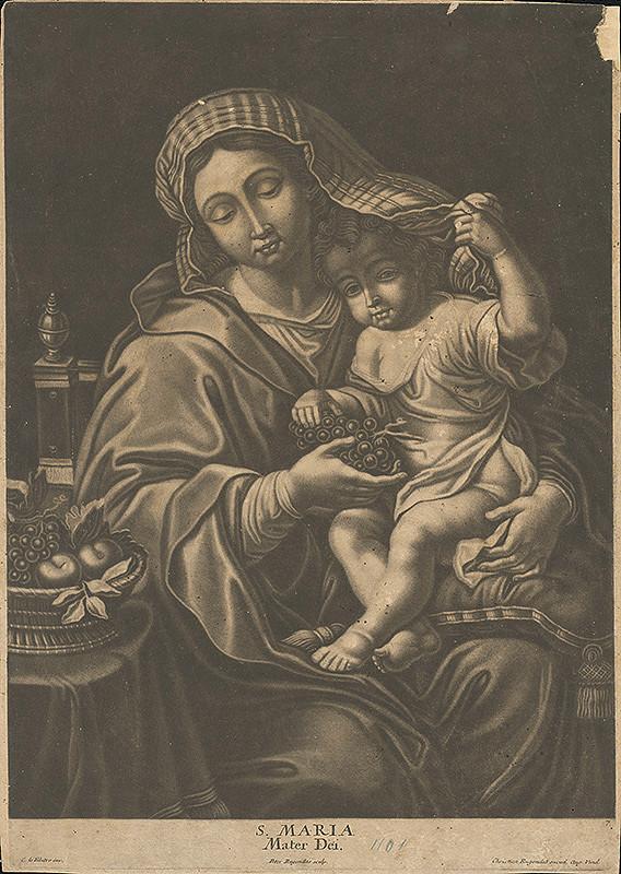 Peter Rugendas, C.le Febitre, Christian Rugendas - Panna Mária dieťaťom