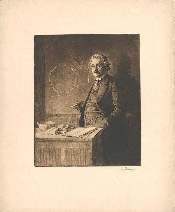 Ferdinand Schmutzer – Einstein