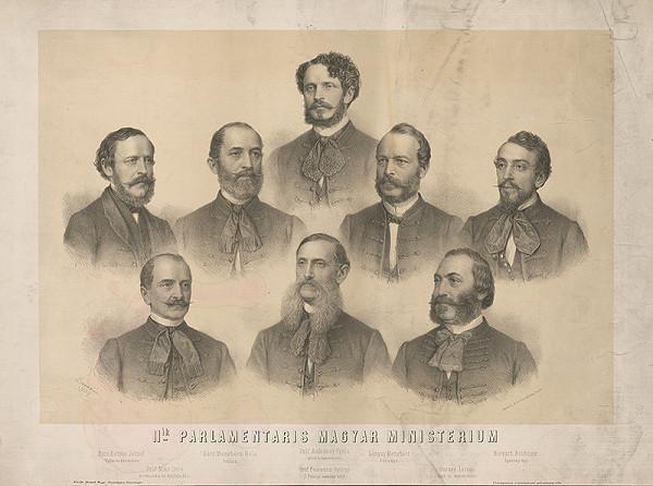 Miklós Barabás – II. parlamentárne maďarské ministerstvo