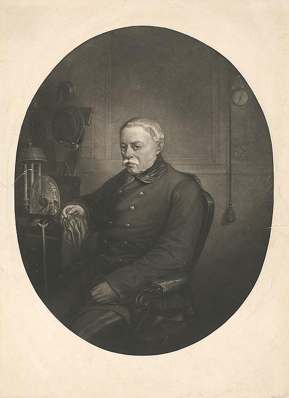Stredoeurópsky grafik z 19. storočia – Portrét pána Radeckého