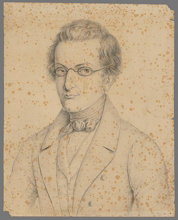 Ferdinand Karl Theodor Lütgendorff – Portrét bratislavského finančníka Teodora Edla (1815-1882)