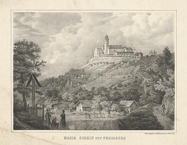Rakúsky grafik z 19. storočia – Maria Schein pri Bratislave