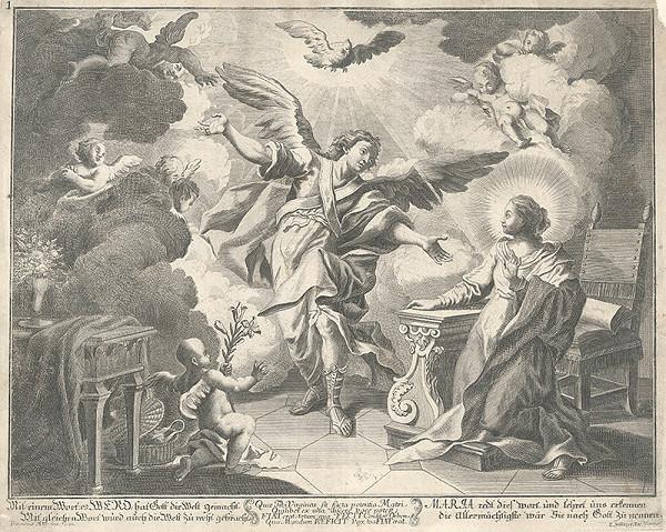 Franz Mayr, Johann Christoph Winkler – Zvestovanie Panne Márii