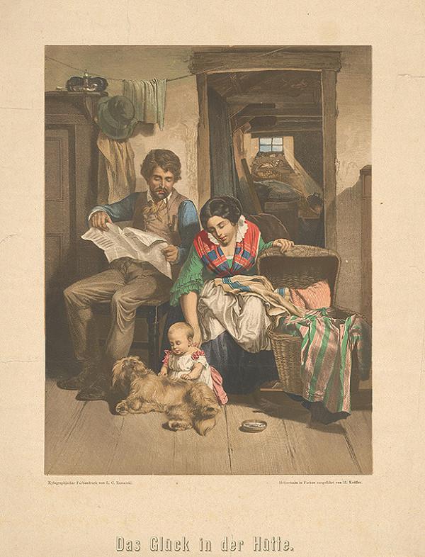 Heinrich Knöfler, Ludwig Carl Zamarski – Šťastná rodina