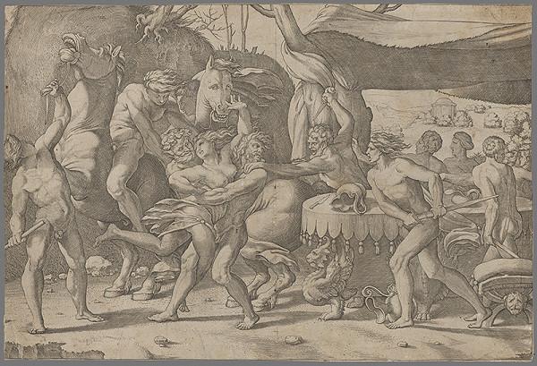 Stredoeurópsky grafik zo 17. storočia – Únos
