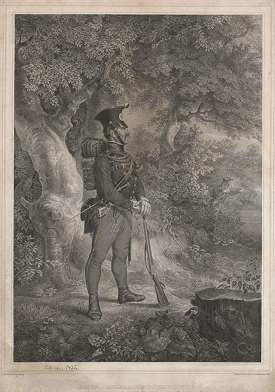 Joseph Kuwasseg, Ferdinand Hofbauer - Vojak hraničiar
