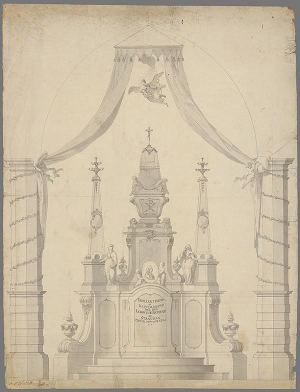Franz Anton Hilldebrandt - Náhrobok grófa L. Bathyana