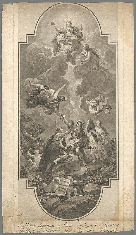 Luca Giordano - Sv. Domingo  pred Pannou Máriou