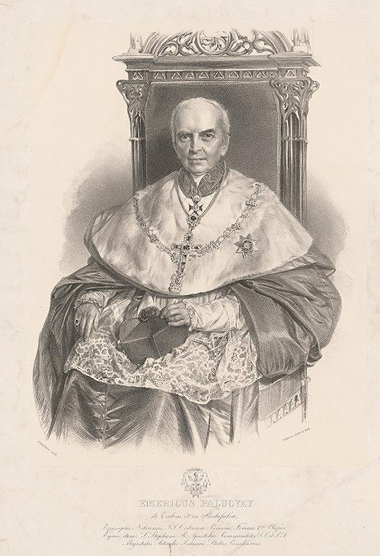 August Strixner – Portrét biskupa E.Palugyaya