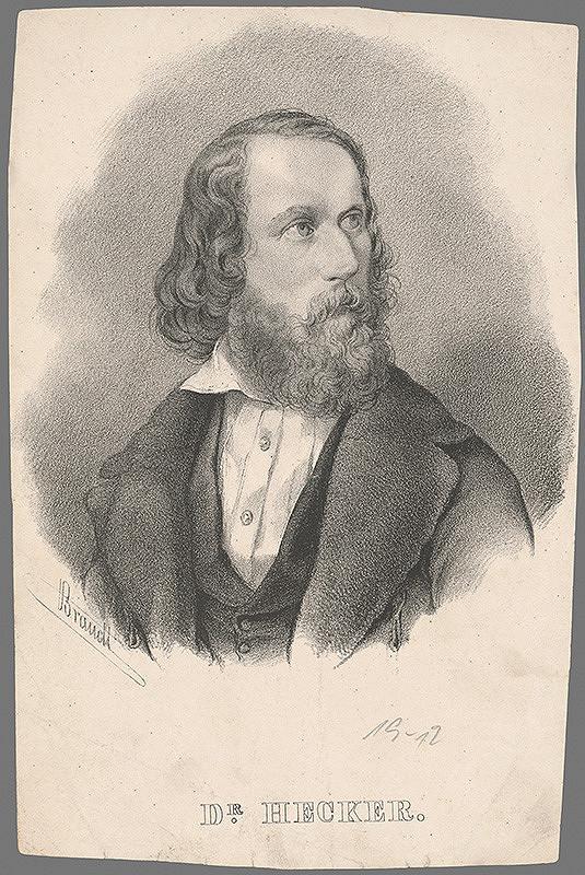 Braudl – Portrét dr. Heckera