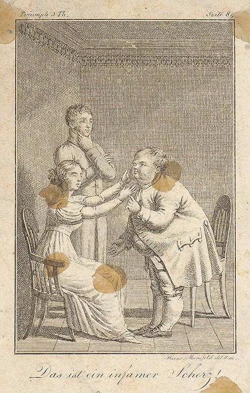 Heinrich August Mansfeld - Hanebný žart