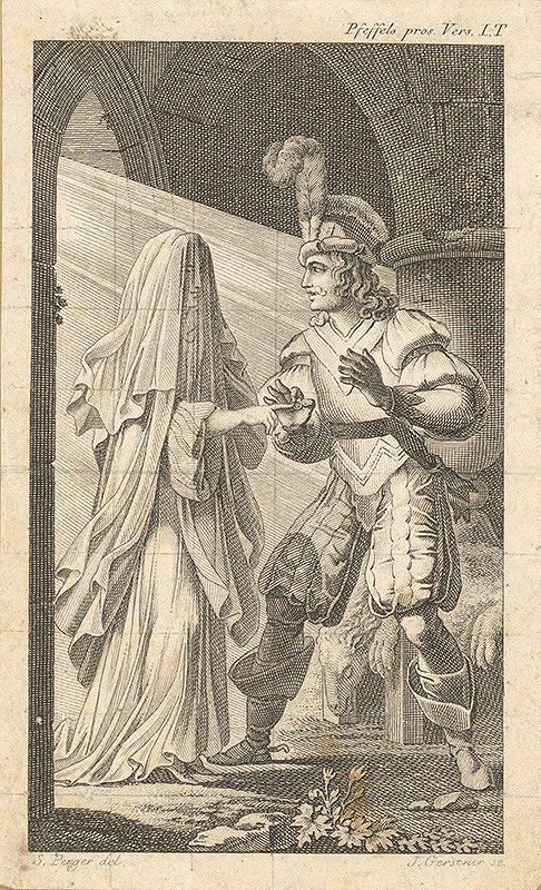 Joseph Gerstner, Sigmund Ferdinand von Perger – Ilustrácia z knihy Pramatka