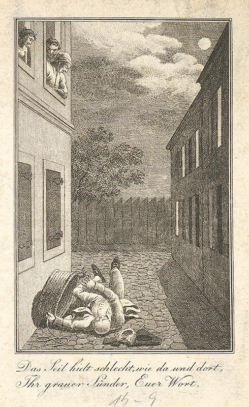 Stredoeurópsky grafik z 18. storočia – Ilustrácia
