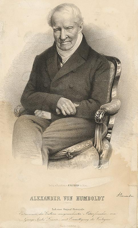 Stredoeurópsky grafik z 19. storočia – Alexander von Humbolt