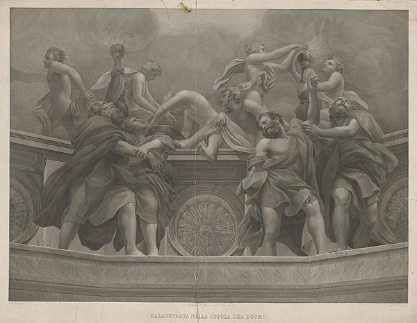 Ferdinando Silvani, Antonio Allegri Correggio – Balustráda kupoly v Dóme