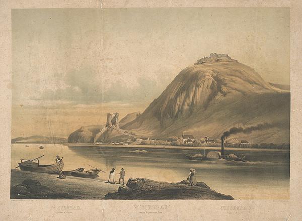 Franz Josef Sandmann, Richard Grimm - Zrúcanina hradu Vyšegrad