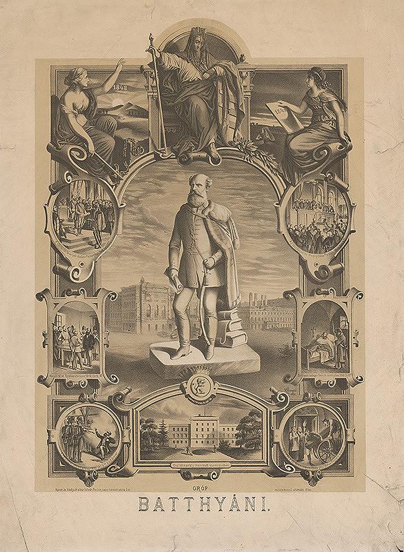 Károly Herqui – Socha grófa Batthyániho