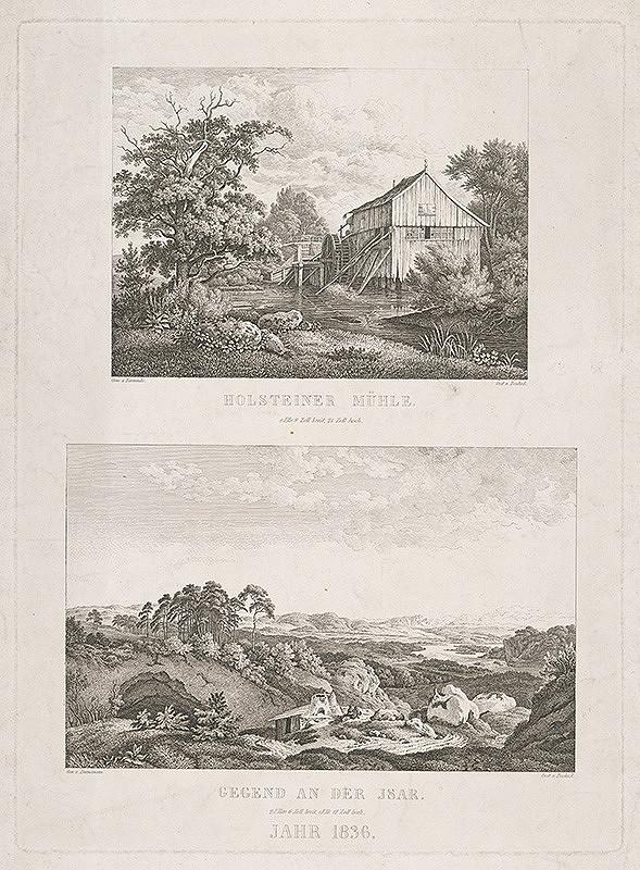 Carl Justus Pescheck, Karminke, Albert Zimmermann – Kamenný mlyn
