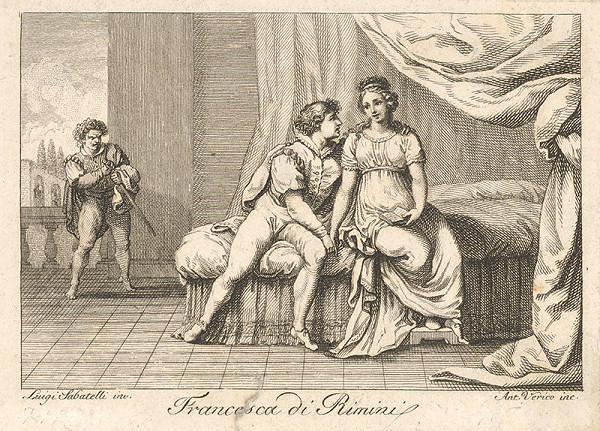 Antonio Verico, Luigi Sabatelli – Francesca di Rimini