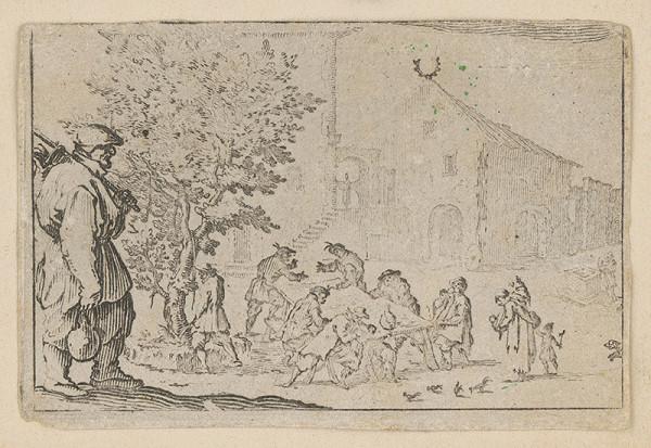 Jacques Callot – Krčma na ulici