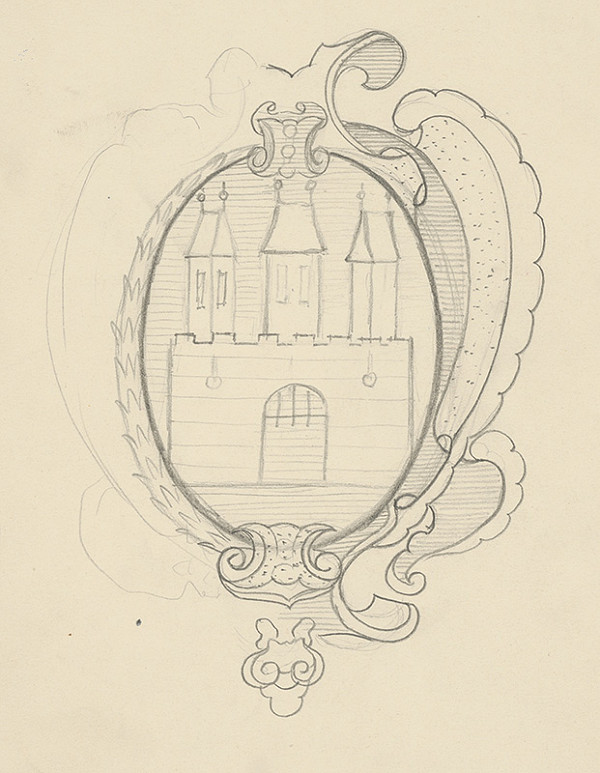 Stredoeurópsky kresliar z 2. polovice 18. storočia - Erb mesta Bratislavy