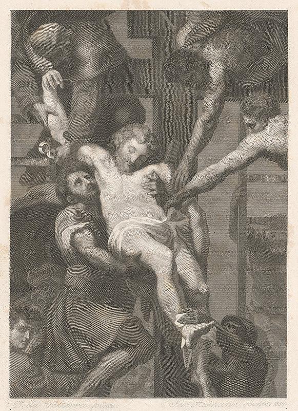 Josef Axmann, Daniele da Volterra – Snímanie z kríža