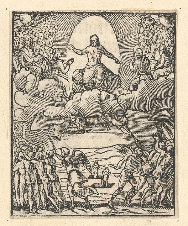 Stredoeurópsky grafik zo 17. storočia - Posledný súd