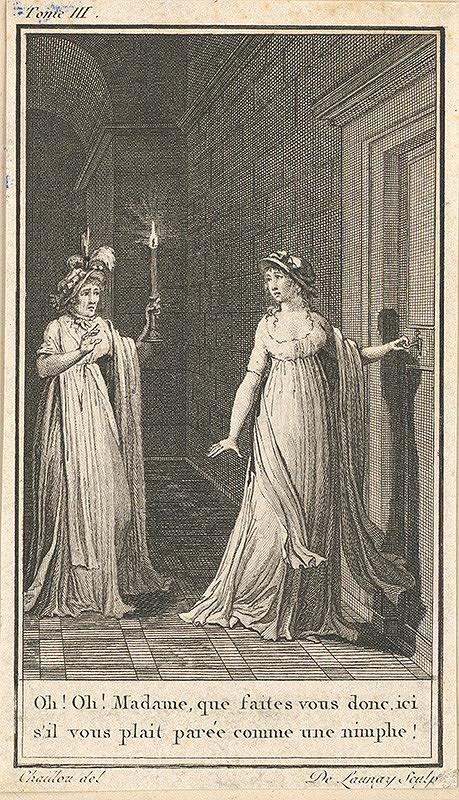 Nicolas Launay, Etienne Joseph Chaillou – Žánrová scéna