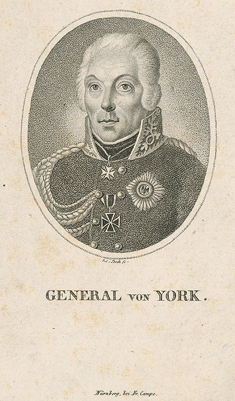 Johann Carl Bock – Generál York z Wartenburgu