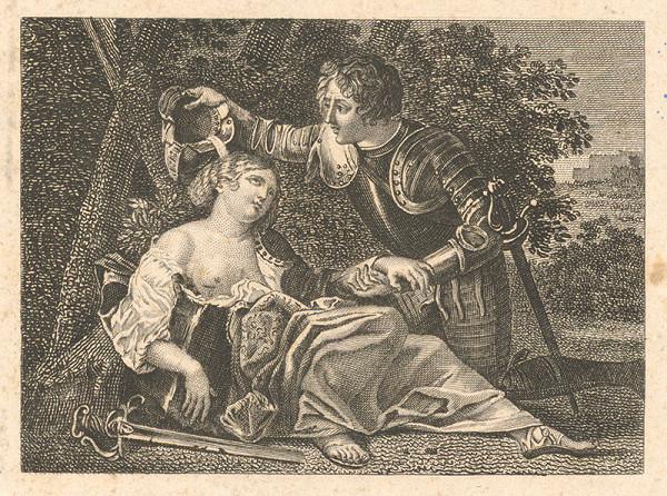 Nemecký grafik z 19. storočia – Občerstvenie
