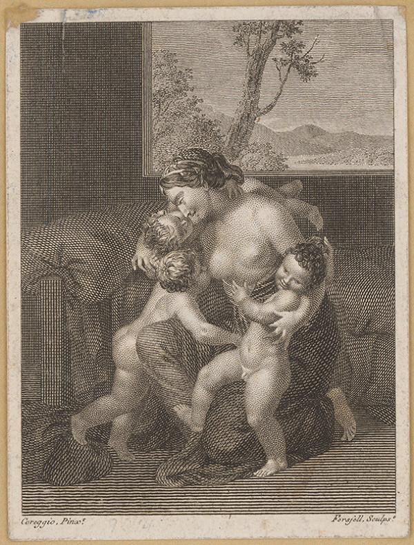 Christian Didrik Forssell, Antonio Allegri Correggio – Matka s deťmi