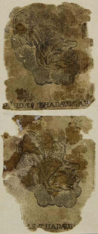 Stredoeurópsky grafik z 18. storočia – Svätý Judáš Tadeáš