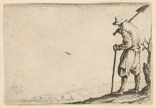 Jacques Callot – Robotník s lopatou