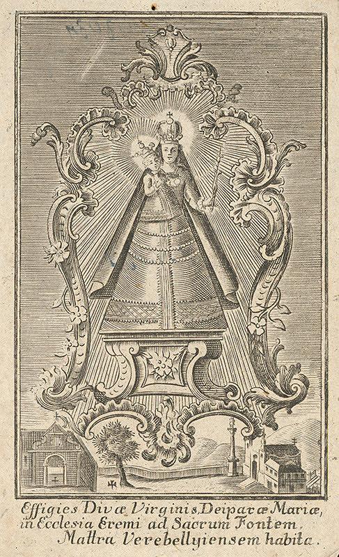 Sebastian Zeller – Milosrdná socha Panny Márie z Mátraverebély-Szentkút