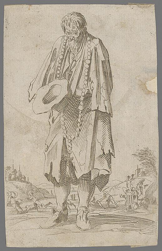 Jacques Callot - Žobrák