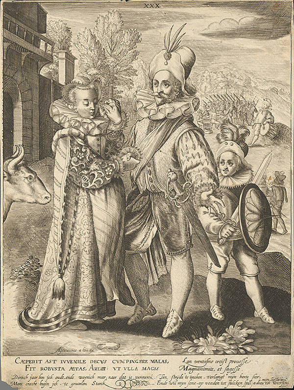 Assuerus van Londerseel, Nicolaes de Bruyn – Tridsiaty rok života / Rozlúčka