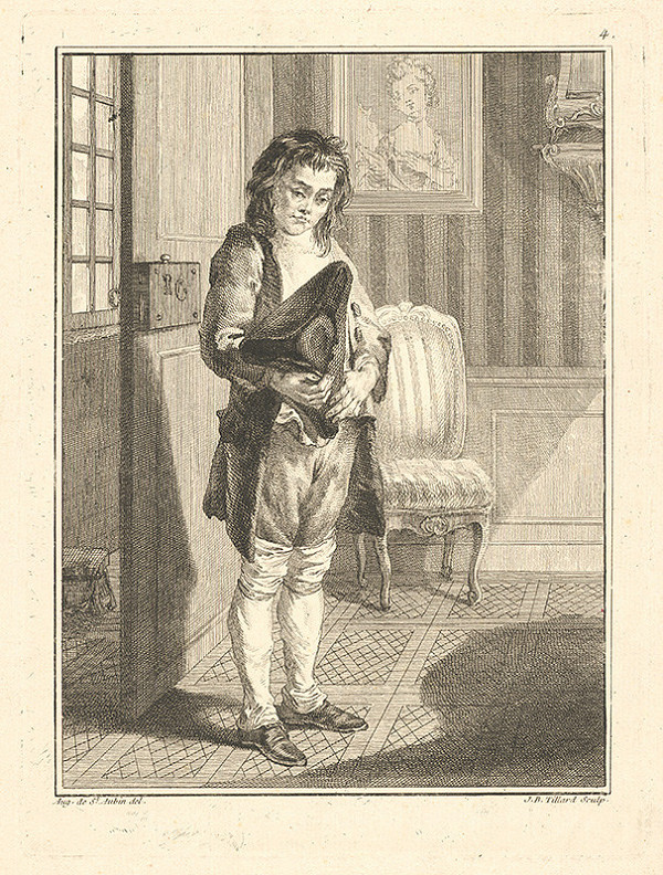 Jean Baptist Tillard, Augustin de Saint-Aubin – Parížsky uličník č.4